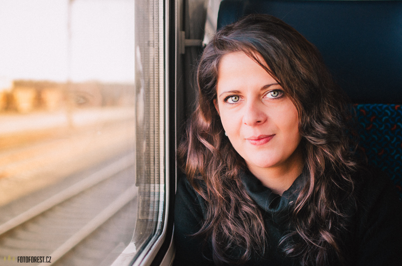 Klára ve vlaku