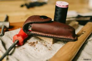 Oprava pouzdra na nůž
