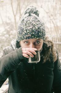 Čaj s alkoholem v termosce