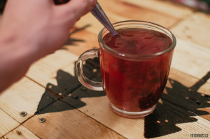 Pečený čaj lesní směs