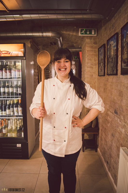 Lucie kuchařka ve Sternu Brno