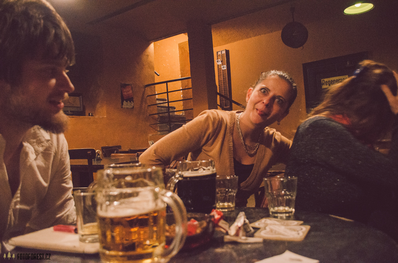 V baru Mýdlo Brno