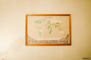 Tisk nástěnné mapy