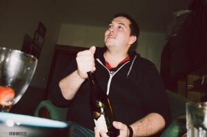 Šampaňské na přípitek