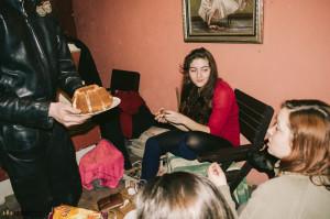 S holkama na chatě