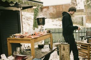 Vaření na chatě