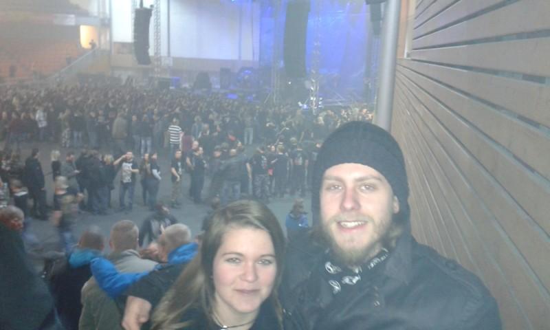 Koncert Sabaton 2016 Brno