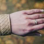 Kožený náramek na ruku, výroba