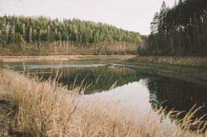 Zátoka opatovické přehrady