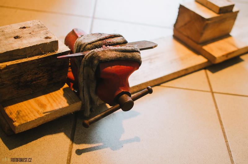 Výroba nože z pilníku, návod