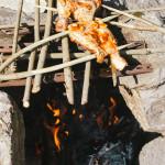 Grilované kuřecí stehno