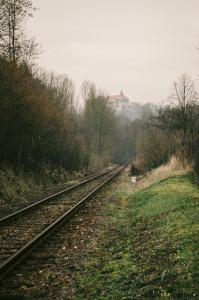 Vlakem na Pernštejn