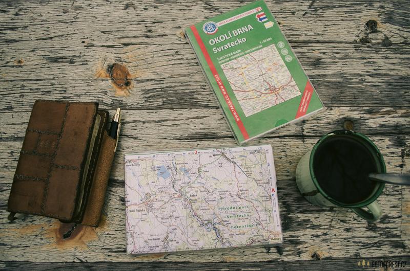 Turistická mapa od Kudrny