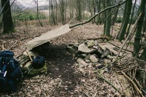 Zbořené tábořiště