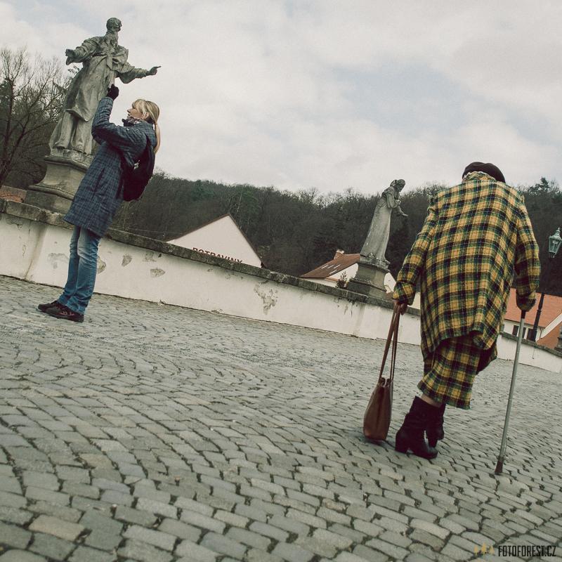 Stará paní v Náměšti