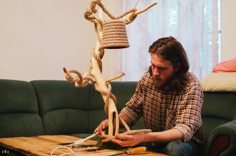 Výroba lampičky