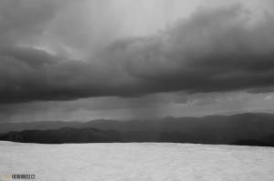 Bouře v horách