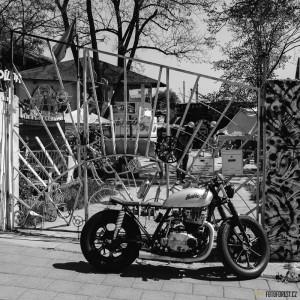 Krásná motorka Na Dráze