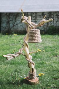 Výroba lampičky ze dřeva