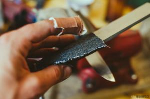 Výroba a broušení nože