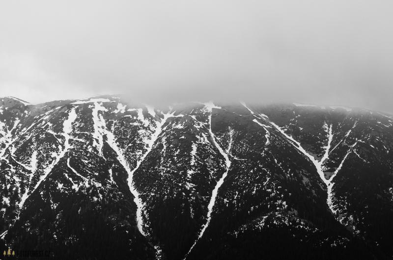 Hory v mlze