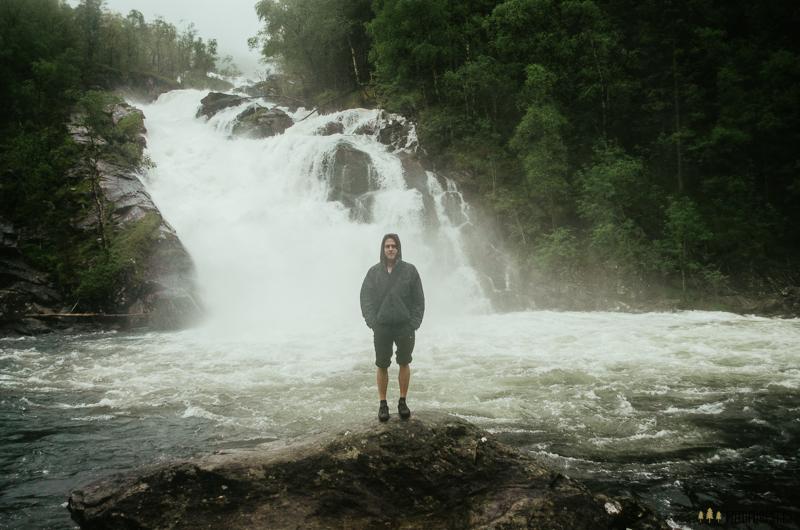 Vodopád v Norsku