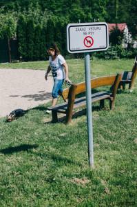Venčení psa v zákazu