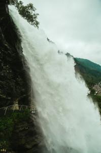 Waterfall Steindalsfossen