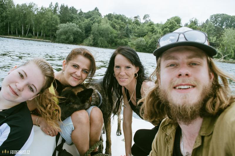 Na přehradě na šlapadle