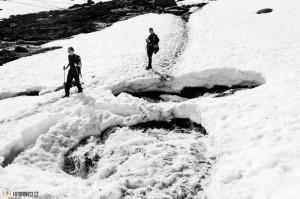 Nebezpečná cesta v Norsku
