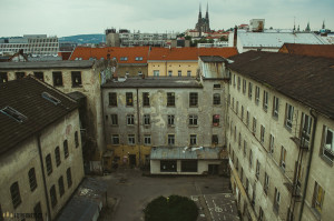 Vlněna Brno bourání 2016