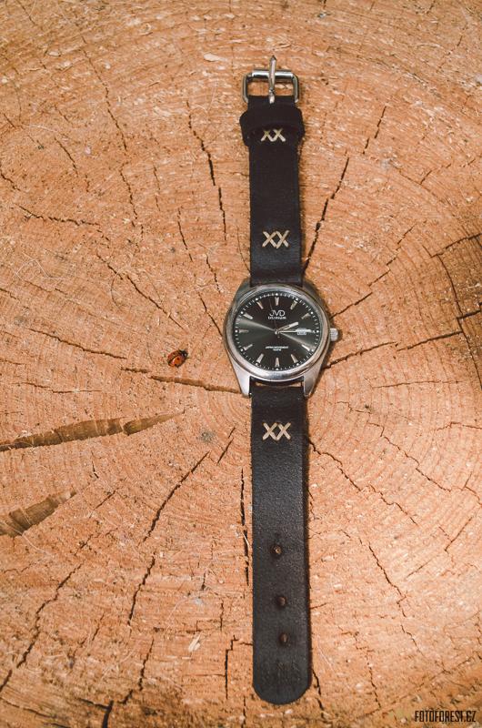 Výroba koženého řemínku na hodinky