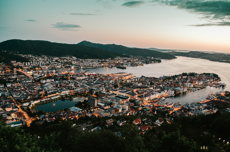 Night in Bergen