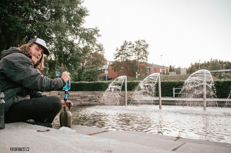 Filtrování vody Sawyer