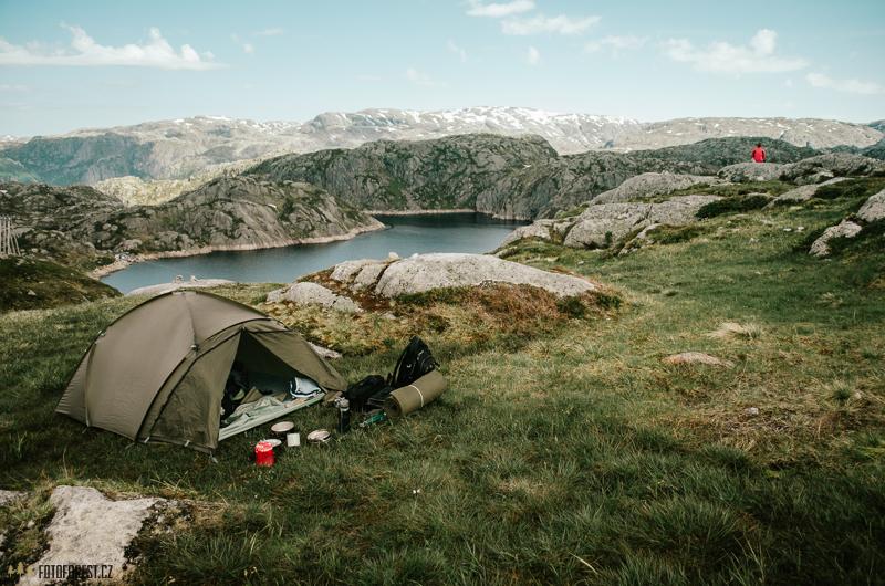 Tjodanpollen, Kjerag camping