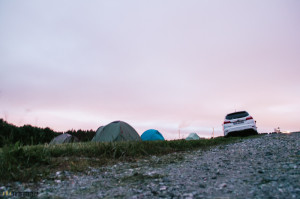 Bergen Airport camping