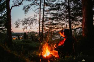 Oheň a stanování v Norsku