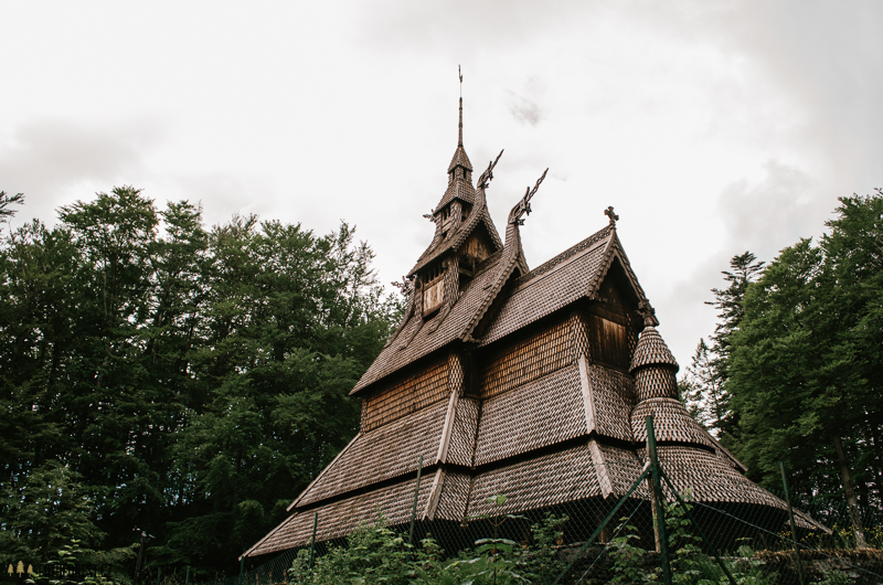 Fantoft Stave Church Bergen
