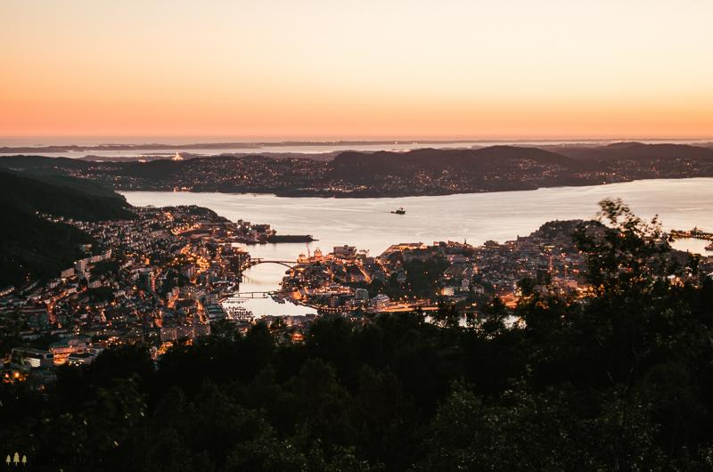 Bergen night