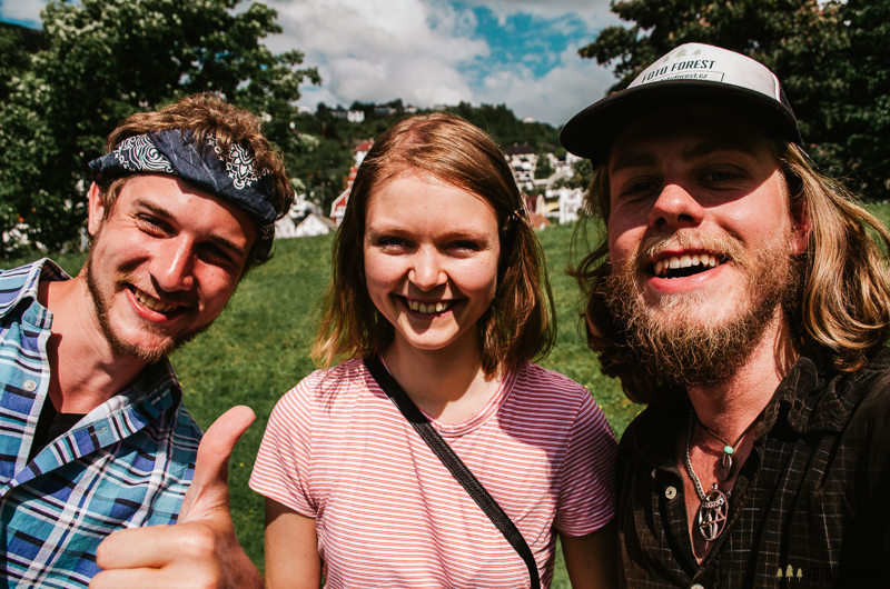 Selfie v Norsku