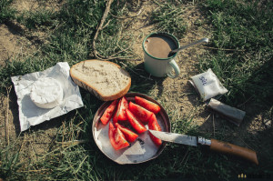 Snídaně v přírodě