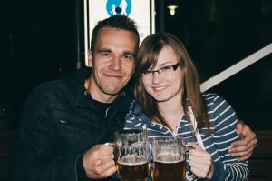 Na pivu v Brně