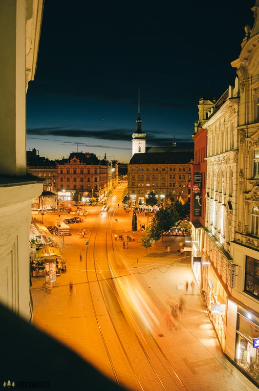 Výhled na náměstí Svobody