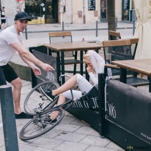 Nevěsta na kole
