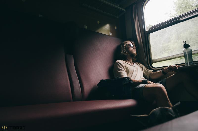 S kocovinou ve vlaku