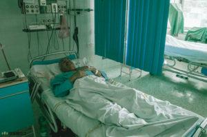 Po infarktu v nemocnici