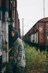 Opuštěné vlaky Brno