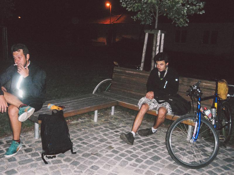 Do Vídně na kole