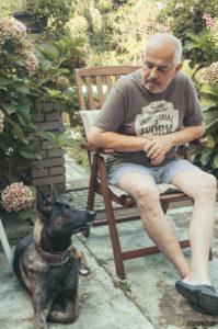 Děda a Buči