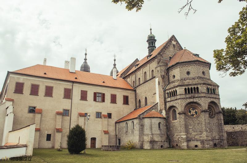 Zámek a bazilika Třebíč